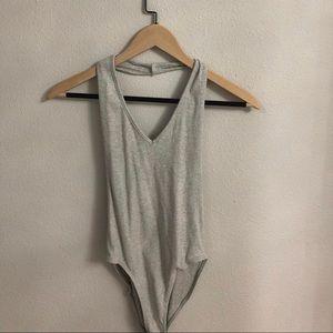 Grey urban onesie !